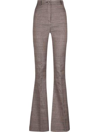 Hebe Studio Bianca Prince Of Wales Trousers