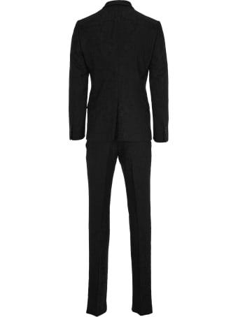 Dolce & Gabbana Dolce&gabbana Jacquard Martini Suit