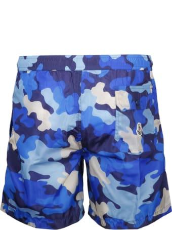Moncler Camouflage Swimshorts