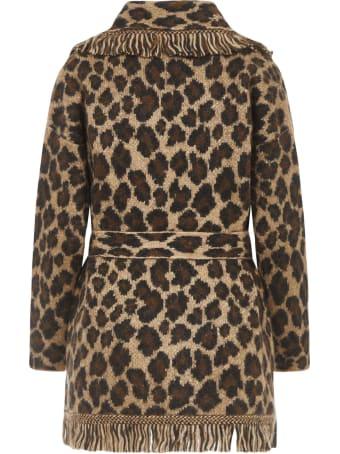 Alanui Leopard Cardigan