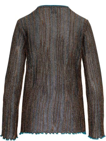 M Missoni Viscose Blend Lurex Sweater