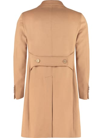 Tagliatore Virgin Wool Coat