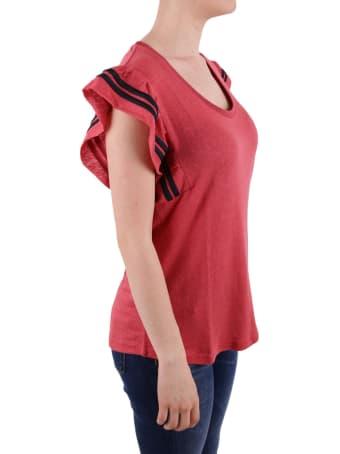 Scotch & Soda Scotch&soda Stretch Linen T-shirt