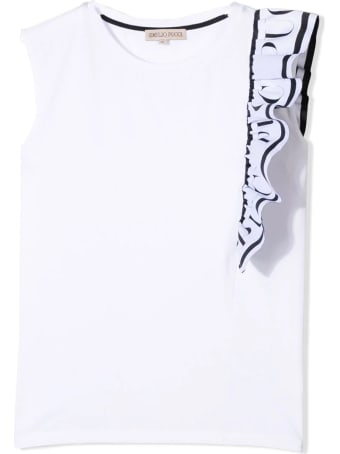 Emilio Pucci Asymmetric Top With Ruches