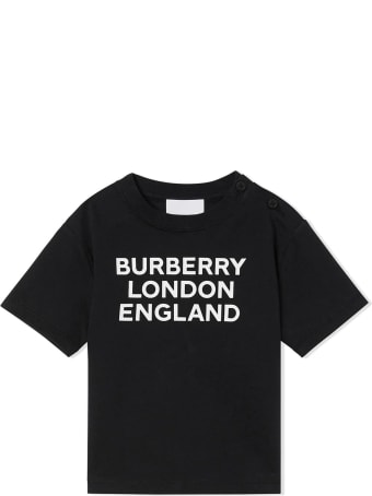 Burberry Black Cotton T-shirt