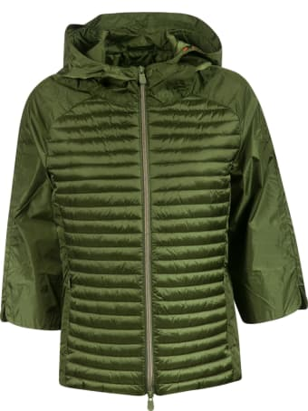Save the Duck Zip Hooded Padded Jacket