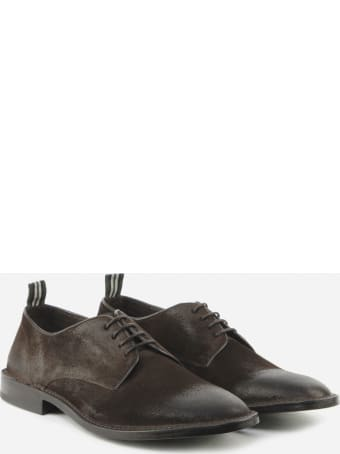 Green George Lace-up In Suede