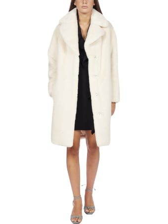 STAND STUDIO Camille Faux-shearling Coat