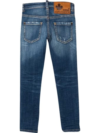 Dsquared2 Straight Teen Jeans