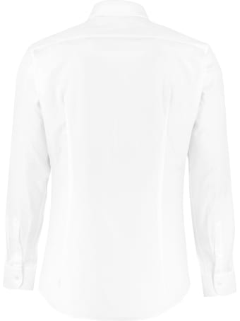 Salvatore Ferragamo Cotton Jacquard Shirt