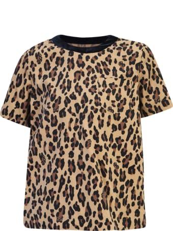 Sacai Leopard Print T-shirt