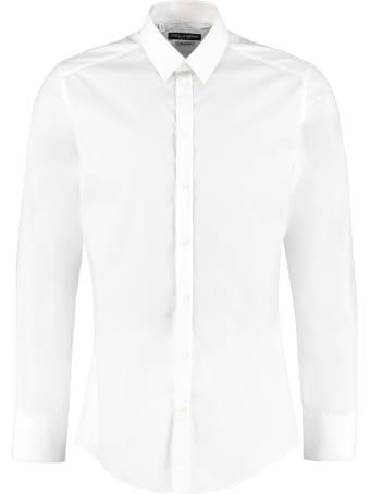 Dolce & Gabbana Stretch Poplin Shirt