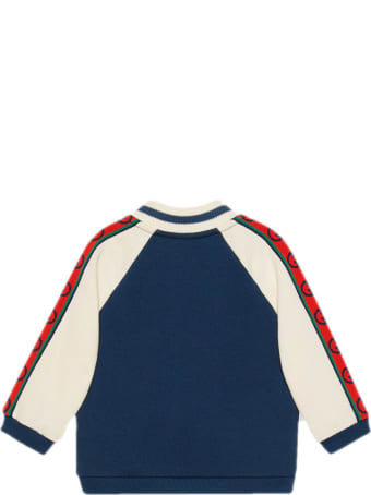 Gucci Dark Blue Cotton Sweatshirt