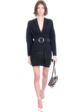 IRO Milad Dress In Black Silk