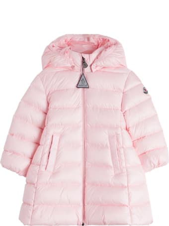 Moncler Long Majeure Down Jacket In Nylon
