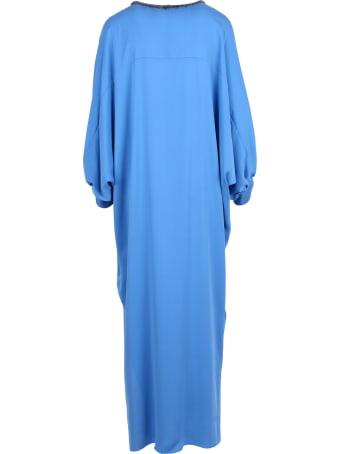 Max Mara 'ocroma' Silk Dress