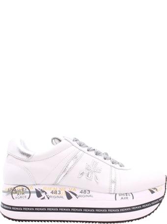 Premiata Beth 4517 Leather Sneakers