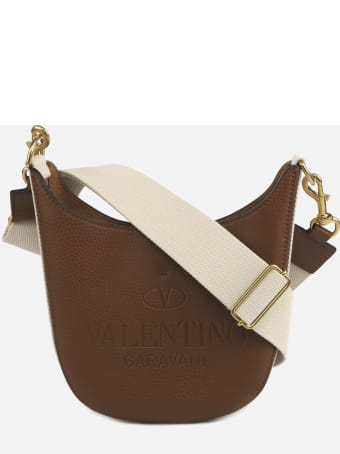 Valentino Garavani Valentino Garavani Identity Hobo Bag In Leather