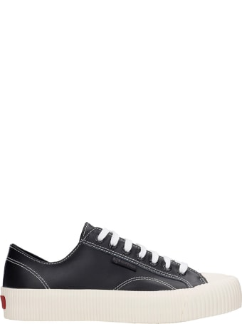 Superga Cotseu  Sneakers In Black Leather