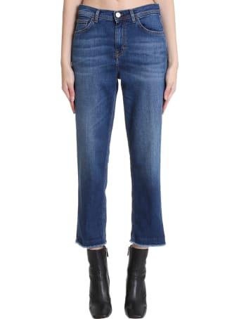 Haikure Bruxelles  Jeans In Cyan Denim