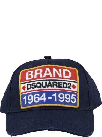 Dsquared2 Brand Patch Baseball Cap