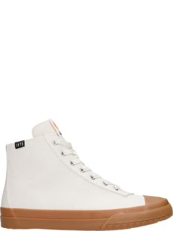 Camper Camaleon Sneakers In White Canvas