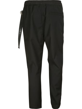 Les Hommes Zipped Pocket Casual Trousers