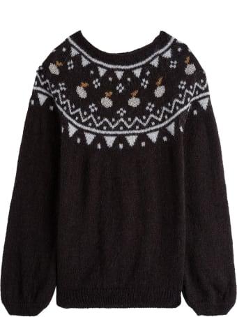 Emile Et Ida Ikat Wool Blend Sweater