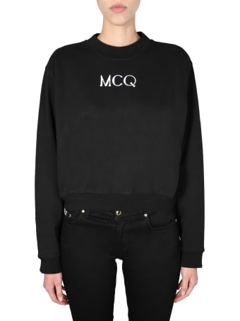 McQ Alexander McQueen Cropped Sweatshirt