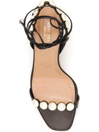 Aquazzura Mae 75 Sandals
