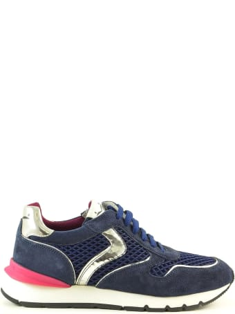 Voile Blanche Blue Mesh Women's Sneakers