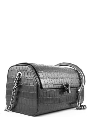 the VOLON Black Crossbody Bag