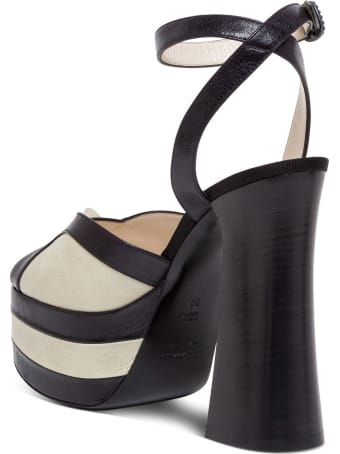 Philosophy di Lorenzo Serafini Bicolor Leather Sandals