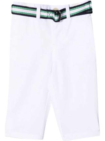 Ralph Lauren White Trousers
