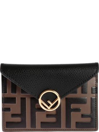 Fendi Busta Small French Wallet