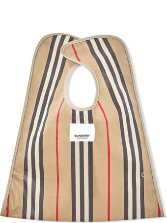 Burberry Icon Stripe Cotton Bib