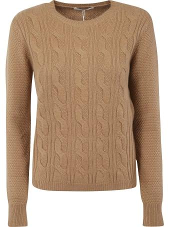 Max Mara Knit Ribbed Sweater