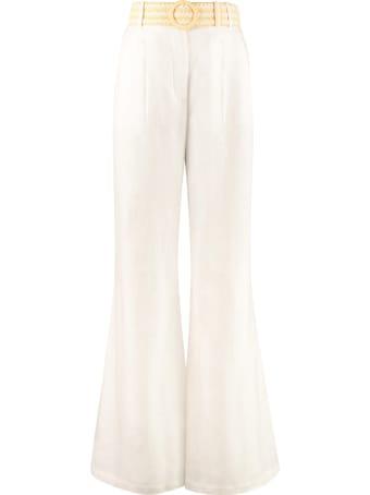 Zimmermann High-waist Wide-leg Trousers