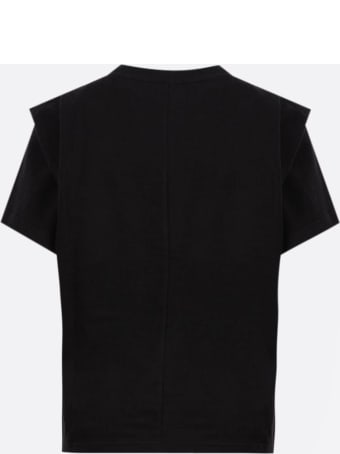 Isabel Marant Black Cotton T-shirt