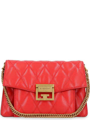 Givenchy Gv3 Quilted Leather Shoulder Bag