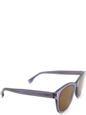Fendi Fendi Ff M0040/s Matte Dark Grey Sunglasses
