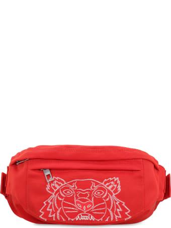 Kenzo Nylon Embroidered Belt Bag