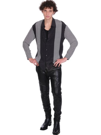Jacob Lee Shirt In Black Silk