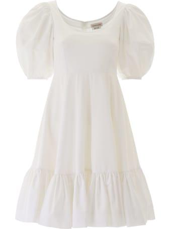 Alexander McQueen Cotton Mini Dress