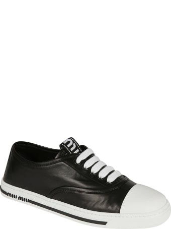 Miu Miu Laced Classic Sneakers