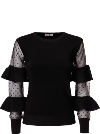 RED Valentino Ruffled Detail Top