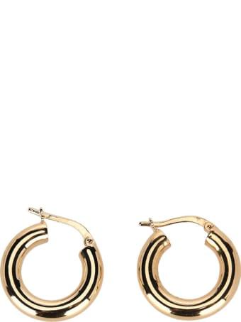 Bottega Veneta Polished Hoop Earrings