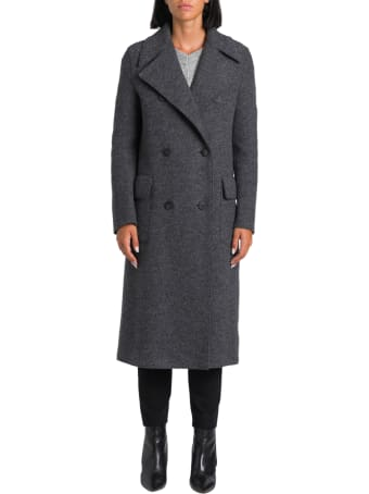 Paltò Saville Double Breatsed Coat