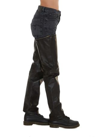 R13 Zip Off Jeans