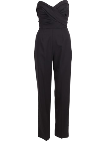 Ermanno Scervino Wool Jumpsuit